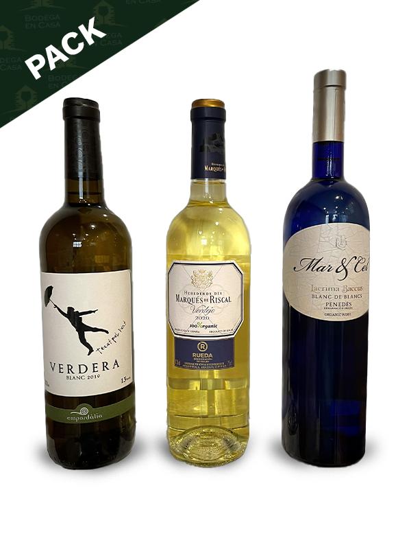Pack de vinos blancos primavera