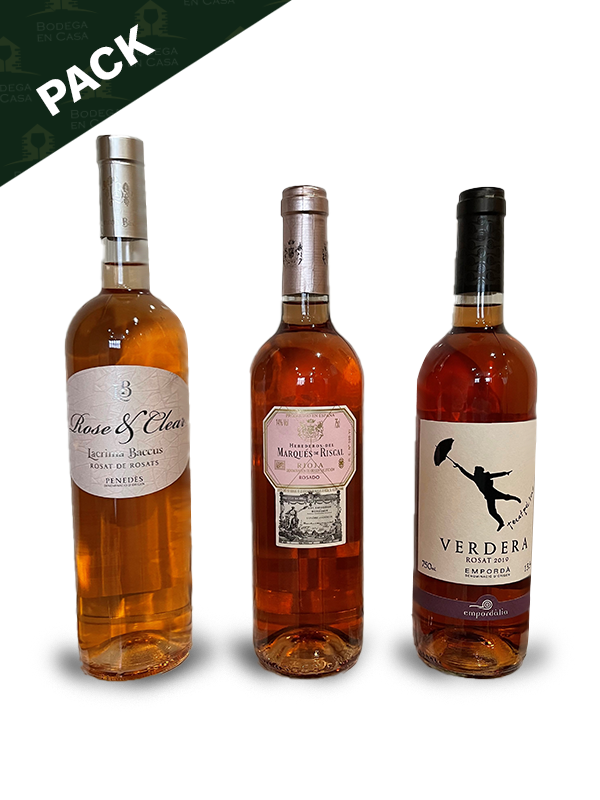 Pack de vinos Rosa Rosae