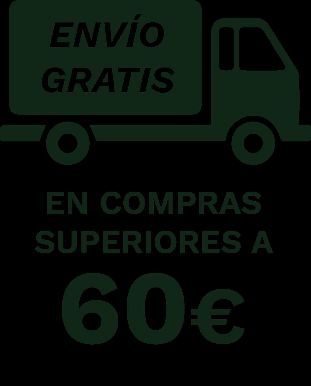 envío gratis a partir de 60 euros