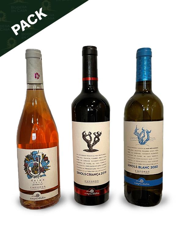 Pack de vinos para iniciación