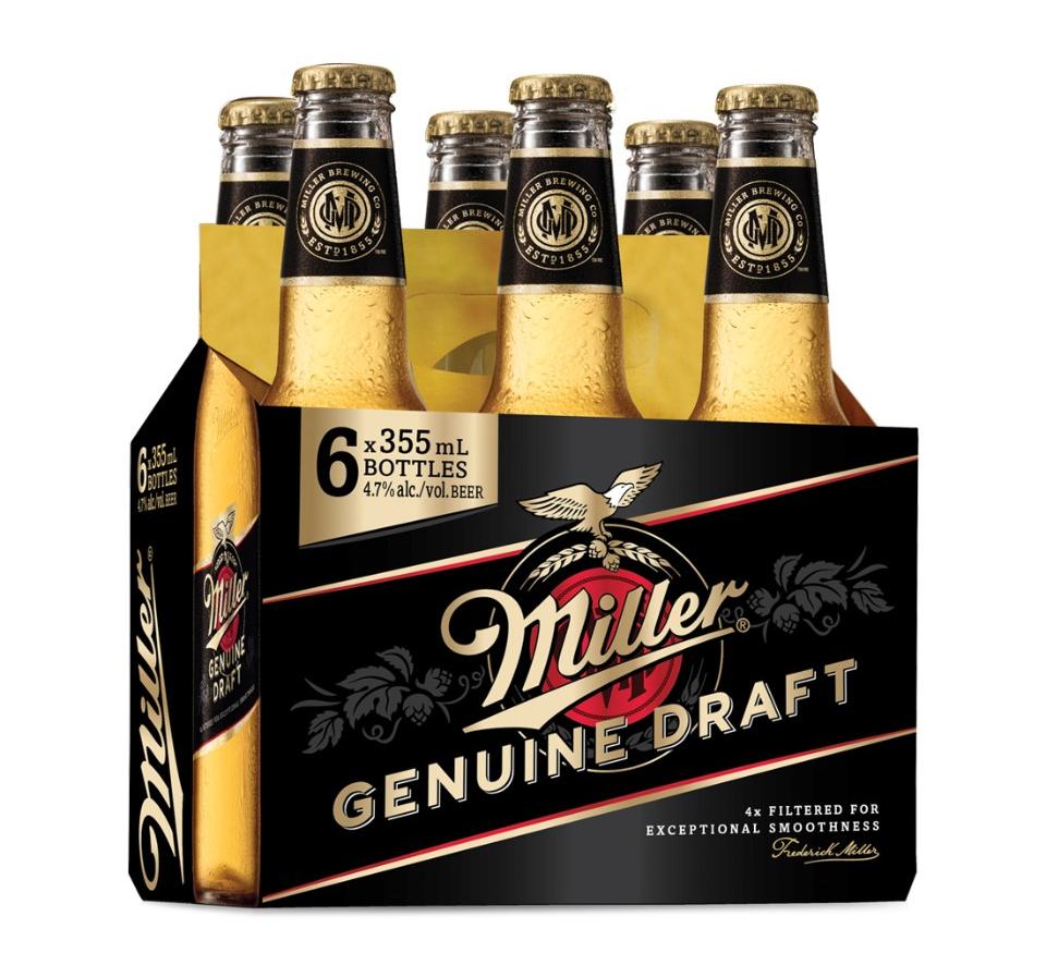 Miller Genuine Draft Suavidad Americana