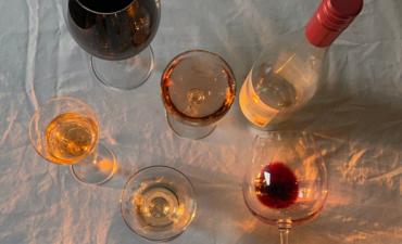 el color del vino